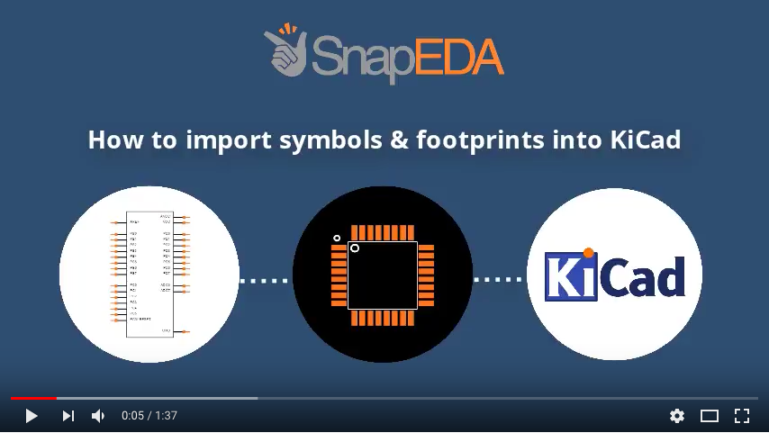 How to import to KiCad